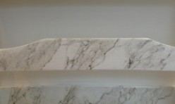 FAUX PAINTED MARBLE – AFTER
