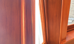 FAUX MAHOGANY GRAINING